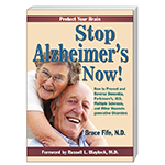 Stop Alzheimer's Now Front Cover 150