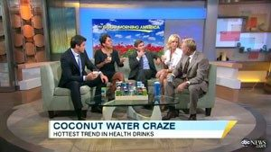 Coconut Water Craze Today Show