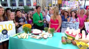 Daphne Oz on the Today Show herbal Popcorn