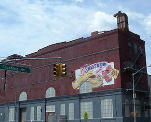 Old Sweet 'n Low factory building.