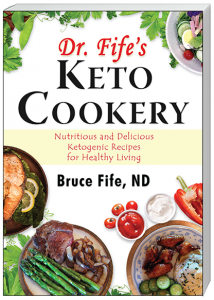 Dr Fifes Keto Cookery Front Cover TC